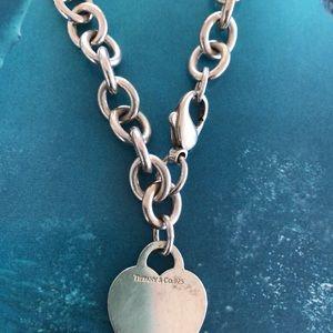 Preowned Tiffany heart bracelet
